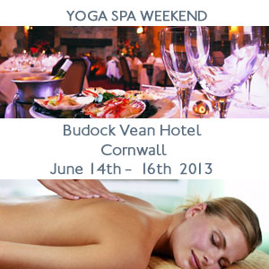 June 2013 Cornwall Yoga and Spa Break
